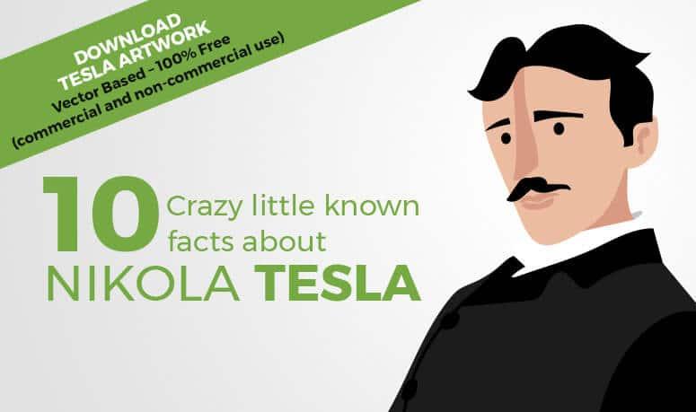 Vectot Tesla banner ad