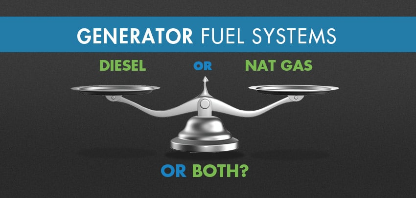 Generator fuel systems illustration