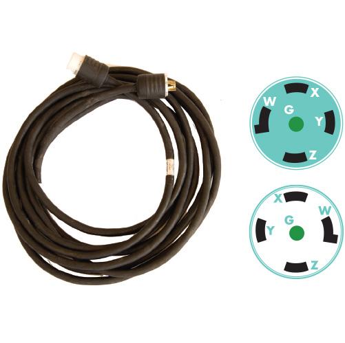 5c 12 120 208v Twistlock Cable Rental Trinity Power