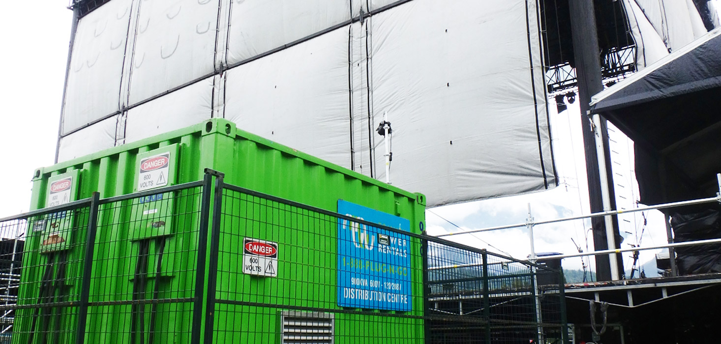 About wajax power systems - Trinity Plugs In To Help Power Major Music Festival