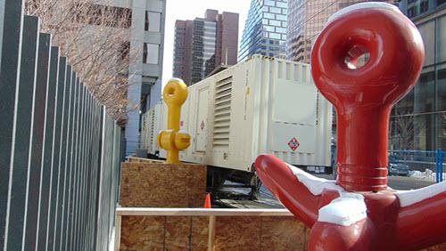Power generator downtown